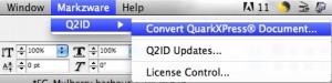 Convertir QuarkXPress a InDesign con Markzware Q2ID