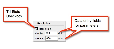 how to check the resolution of an image in pdf