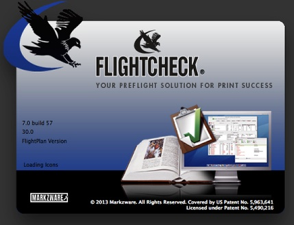 Markzware FlightCheck 7 Mac Start Up