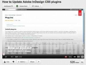 How to Update Adobe InDesign CS5 Plugins