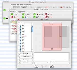 Live Preflight Problems Adobe InDesign CS6