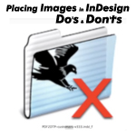 how to fix missing link image in indesign