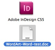 Obtener un documento de Word con imágenes incrustadas en InDesign