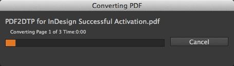 Markzware PDF2DTP voor InDesign CC Mac Win Conversie