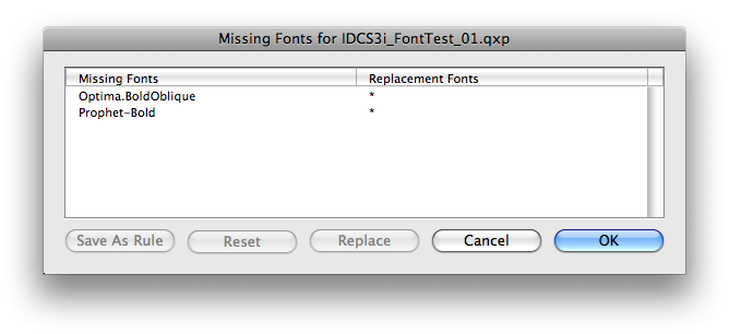 how to add fonts from folder to missing fonts indesign