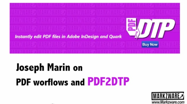 Markzware PDF2DTP User, Printing Industries of America