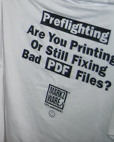 Markzware T-Shirt Preflighting Are You Printing Or Still Fixing Bad PDF Files? (It's Patented)
