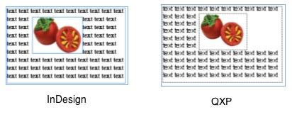 Markzware ID2Q для QuarkXPress Хоровод изображения прямоугольника