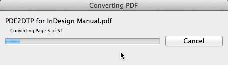 Markzware PDF2DTP per InDesign conversione