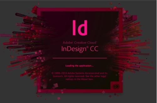 Start Up Adobe InDesign CC Creative Cloud