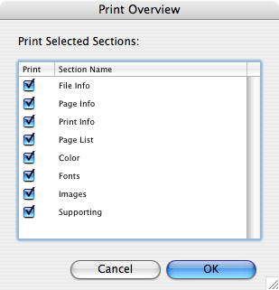 Markzware FlightCheck File Menu to Prepress Check Print Files