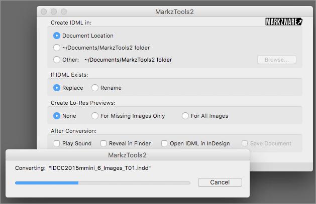 Markzware MarkzTools2 Convierte el archivo