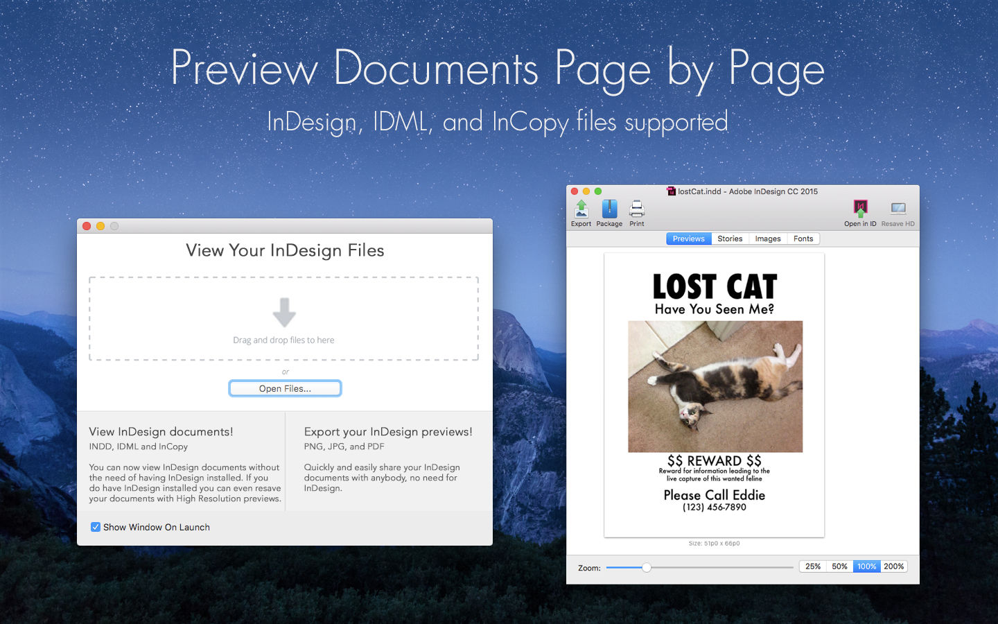Markzware ID Util macOS Preview Documents Page by Page