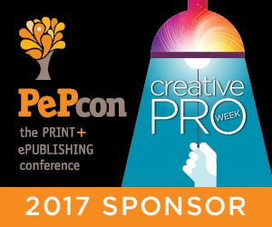 PePcon Sponsor: Zware Unterstützt Print + ePublishing-Konferenz, Teil CreativePro Woche 2017