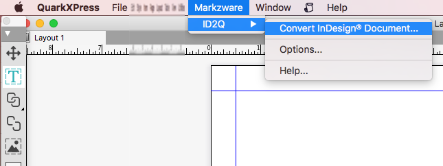 Markzware ID2Q Convert InDesign Document