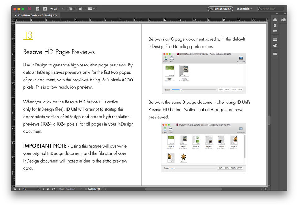 Example of QuarkXPress 2018 to InDesign 2018 File Conversion, Using Q2ID to Convert QXP to INDD