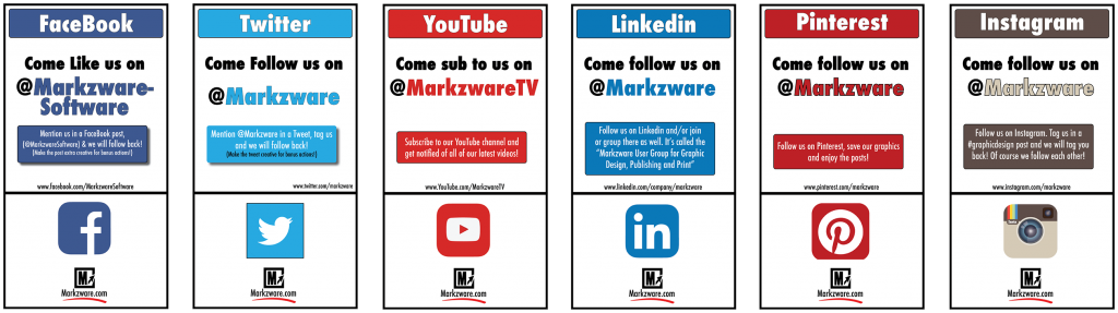 Markzware on Social Media
