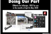 DoingOurPart IDMarkz for InDesign converter FREE April May 2020