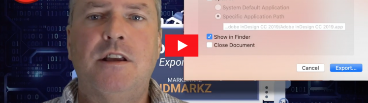 InDesign Preview, Export and Conversion with IDMarkz - NEW