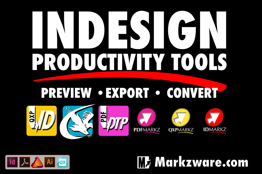 INDESIGN PRODUCTIVITY TOOLS – PREVIEW AND CONVERSION banner