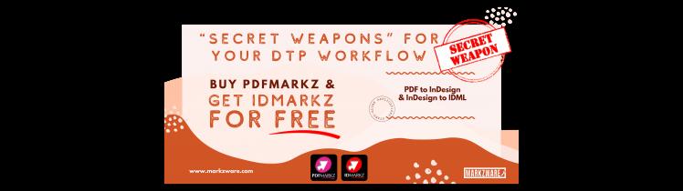 DTP secret weapon InDesign WEB preview converter.